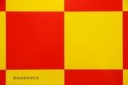 Amarillo-Rojo cuadriculado 2
