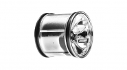 Wheels, Magneto, Chrome (2): LST, AFT, MGB by Losi (LOSB7001)