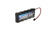 6V 3000mAh Rx Battery Pack: 5IVE-T by Losi (LOSB9952)