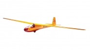 Ka8-B Sailplane ARF, Yellow by Seagull (SEA137B)