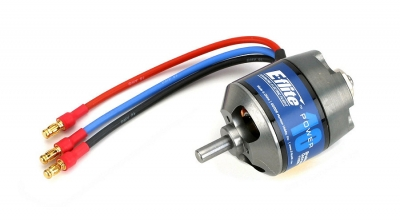 Power 10 Brushless Outrunner Motor, 1100Kv by E-flite (EFLM4010A)