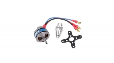 Park 370 BL Outrunner, 1200Kv with 4mm Hollow Shaft by E-flite (EFLM1210HS)