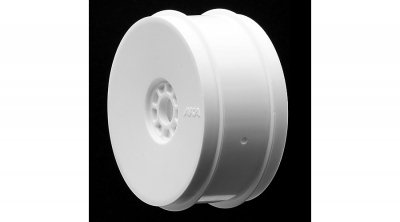 1/8 Buggy EVO Wheels, White (4) by AKA PRODUCTS INC. (AKA24003W)