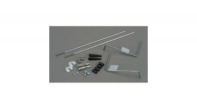 Sistema de mando de alerón,   by Dubro Products (DUB101)
