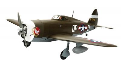 P-47D-1 Thunderbolt 60 ARF  Hangar 9 (HAN2790)