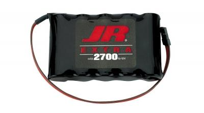 Pack de receptor 2700mAh 6V NiMH Sanyo  JR (JRPB5008)