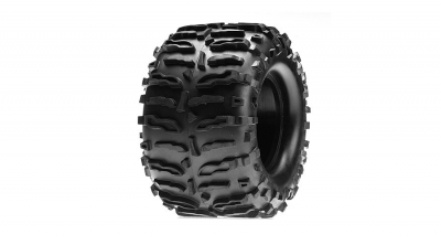 Claw MT Tires with Foam (2): LST, AFT by Losi (LOSB7201)