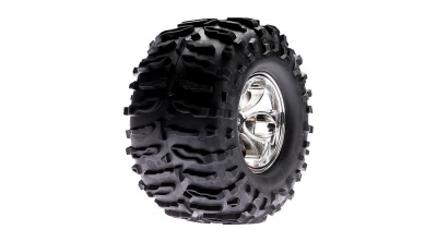 Magneto Wheel with Claw Tires (pr): LST, AFT, MGB by Losi (LOSB7401)