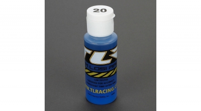 Silicona 20wt Shock Oil, 2 oz by Team Losi Racing (TLR74002)