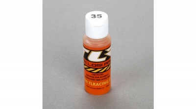 Silicona 35wt, Shock Oil, 2 oz by Team Losi Racing (TLR74008)